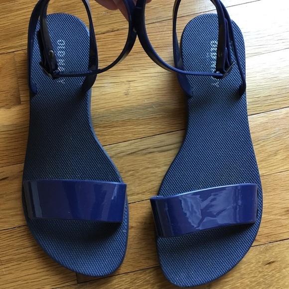 2bb62927be77 🍀💕Jelly sandals Old Navy Blue💕🍀. M 5ae8a67ea825a626b430d5ed